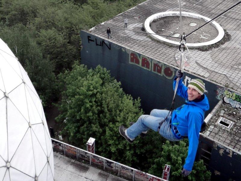 Flying Fox, Seilbahn als Mitmach-Event oder Teamevent in Berlin und deutschlandweit