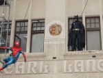 2018-04-Superhelden Show Batman Spiderman