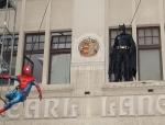 2018-04-Superhelden Show Batman Spiderman