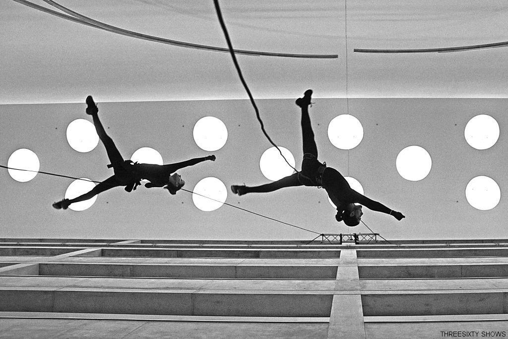 Vertical Dance Show in Berlin