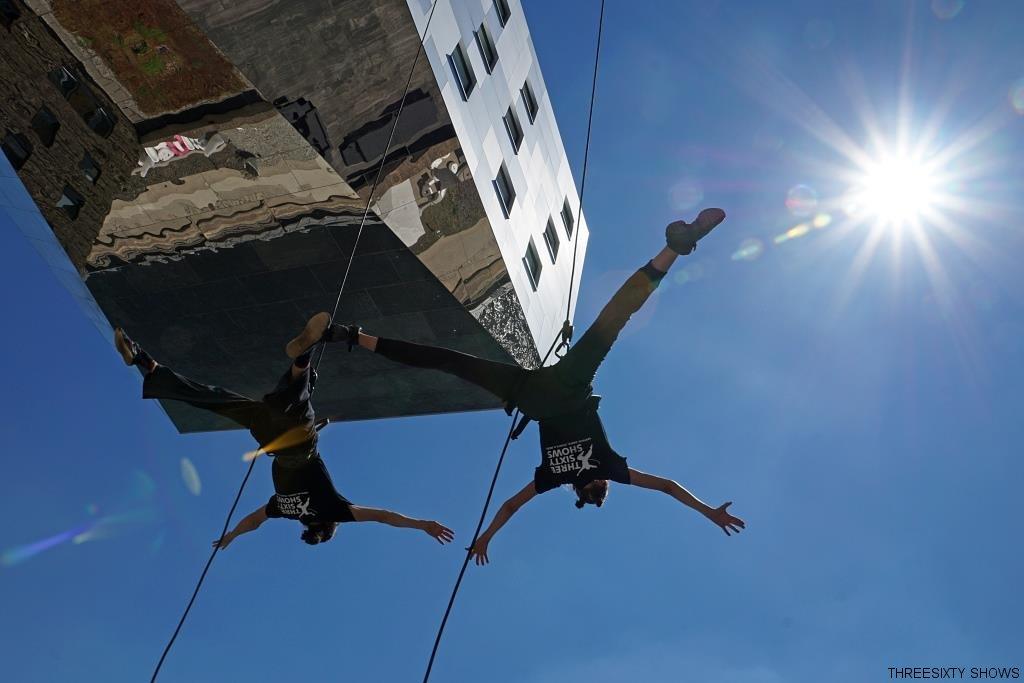 nhow berlin vertical dance show
