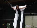 Luftakrobatik und Flying Dance mit Windentechnik