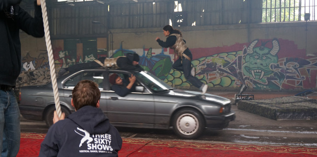 Stunt-Event – Stuntworkshop als Teamevent